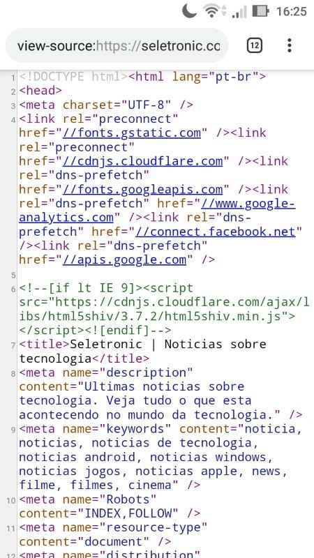 See page source code on mobile part 3