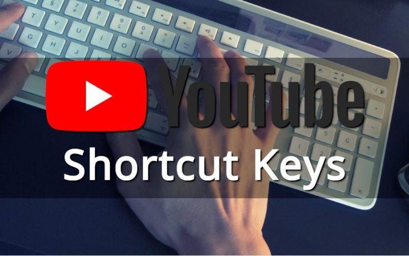 Imagem de 20 Youtube Shortcut Keys for you to master the Player