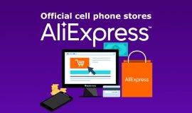 Imagem de Official or secure mobile phone stores to buy on AliExpress