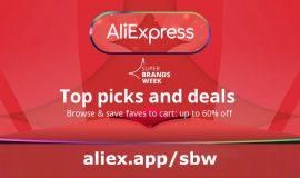 Imagem de AliExpress Super Brands Week: 60% and lots of discount coupons