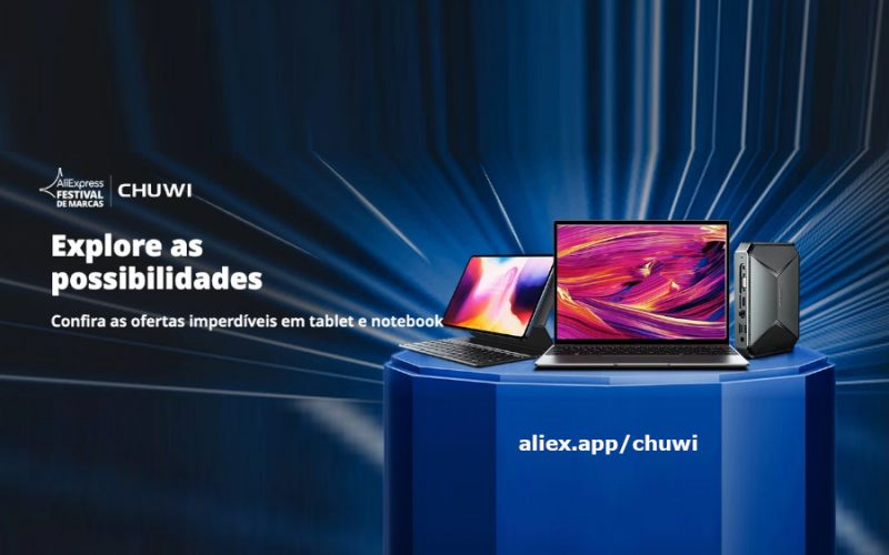Imagem de CHUWI tablets, notebooks and mini PCs up to 40% off AliExpress